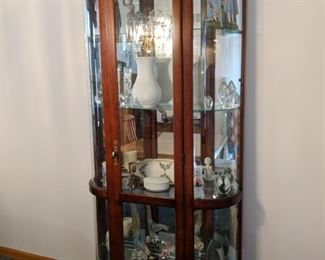 $90  Glass display cabinet