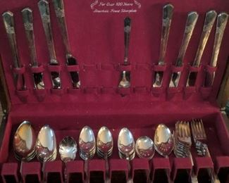 $75  Silverplate flatware