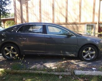 2009 Chevrolet-taking bids