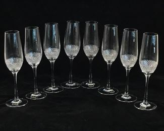 John Rocha at Waterford Crystal, Champagne Flutes (8Pcs) https://ctbids.com/#!/description/share/262996