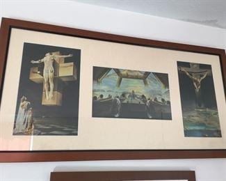Framed Dali Prints