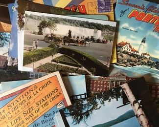 """100+ Vintage and Antique """"World Traveler"""" Post Cards and Photos!"""