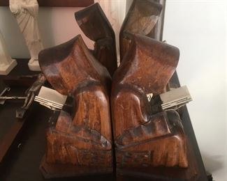2 Sets of Monk Bookends