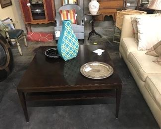 Designer coffee table and sofa