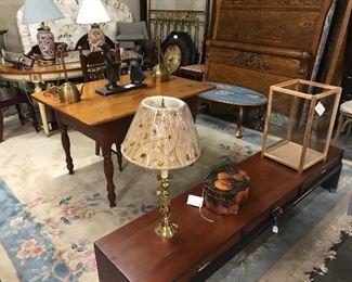Low oriental coffee table