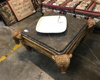 Indian elephant coffee table