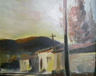 JR Hamil oil painting