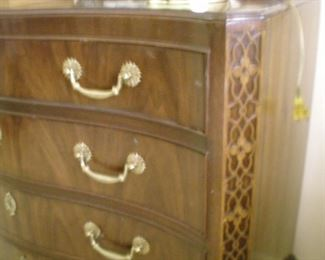 Detail of small dresser