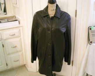 Beautiful, soft leather coat