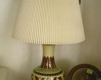 There are numerous beautiful lamps at this sale