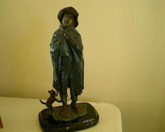 Great bronze sculpture