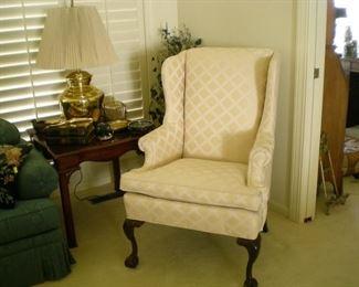 Fredrick Edward wing back chair