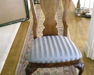 One of six side chairs for Thomasville  Dining Set