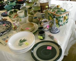 Lots and lots of pottery