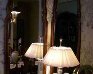 Thomasville mirrors, one of many beautiful lamps