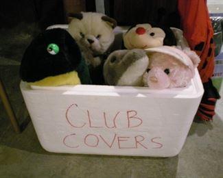 Whimsical club covers