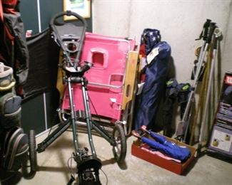 Sports equipment galore