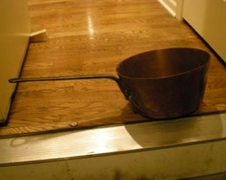 This is large! Another fabulous copper pot