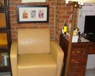 really cool mid-century office chair
