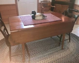 Another Hitchcock dining table /chairs