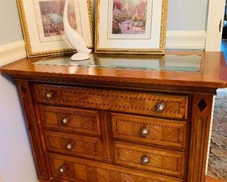 Glass Top Display Chest