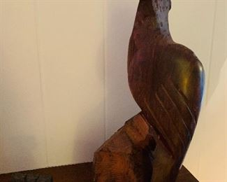 Bali Wood Carving, Eagle