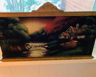 Ornate Painting, Velvet Wall Art