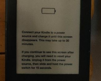 Kindle black and white read only