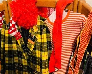 Clown Costume, Halloween 🎃 Costumes, Magic games/tricks accessories