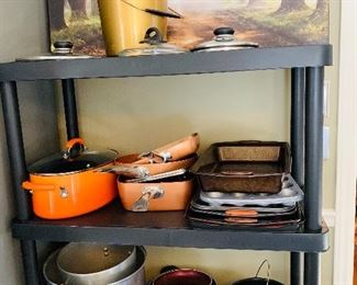 Pots and Pans, copperware