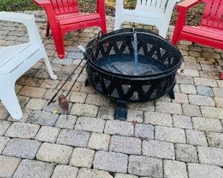 Get ready for autumn festivities with a like new fire pit!