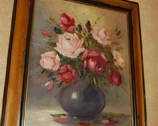 Floral by signed by Franks