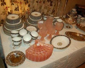 China and silver ware