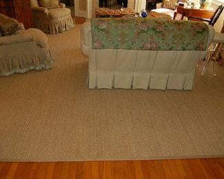 Room-size sisal rugs