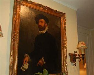 French folk nobleman portrait