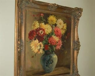 English floral painting