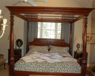 Mark Hampton four poster king bed