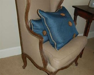 Country French armchairs