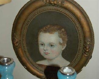 Early child's portrait