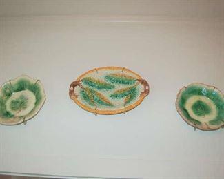 Majolica plates