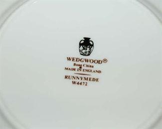 """Wedgewood """"Runnymeade"""" china"""