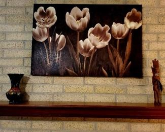 Wall Art, Candle holders, Vase