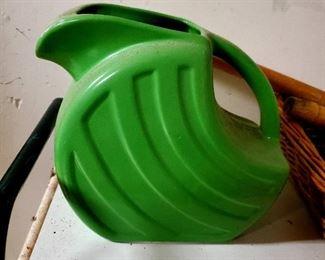 Original Fiestaware Green Pitcher