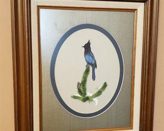 Set of Bird Paintings by Jackie Buffington