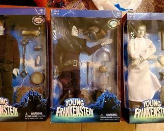 Young Frankenstein Action Figure Set