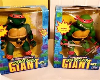 GIANT Ninja Turtles Set