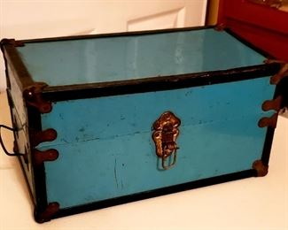 Antique Doll Carrying Case