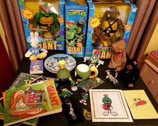 Marvin the Martian, ET, Kid's books