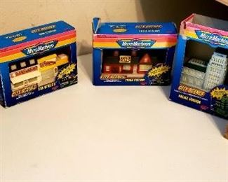 Micro Machines City Scenes