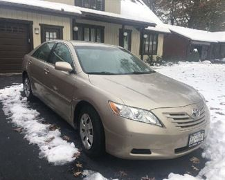 2008 Toyota Camry, only 55,000 miles!!! Excellent condition!